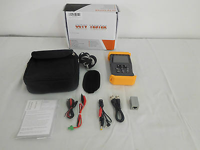ForTronix 3.5 inch CCTV Tester 3 in 1 for 1080P AHD TVI CVBS Cameras LCD Screen