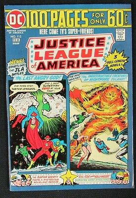 Justice League of America #115 (1975) 100 Page Giant High Grade NM 9.4 CA581