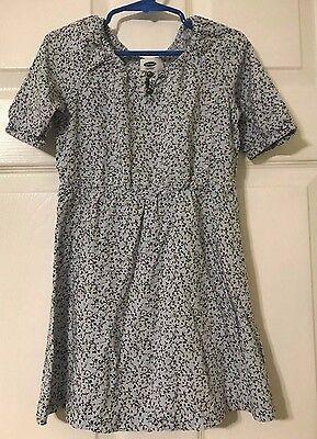 Girls Size 5 XS Old Navy Floral Print Short Sleeve Dress