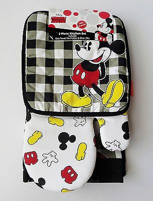 Disney - Mickey Mouse - Partly Mickey 3 Piece Kitchen Set