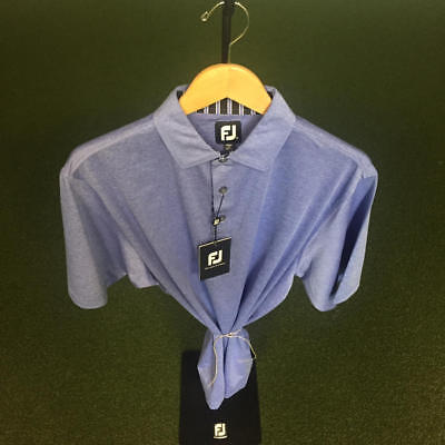 NWT Men's FootJoy Heather Lisle w/Self Collar Shirt M *Discontinued*