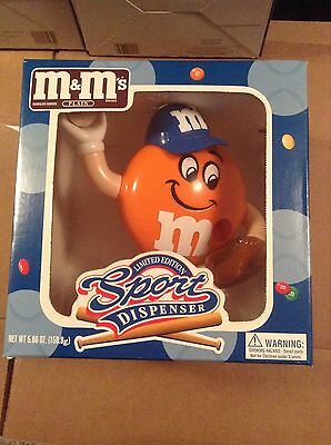 Limited Edition M&M Sports Candy Dispenser Baseball Collectible