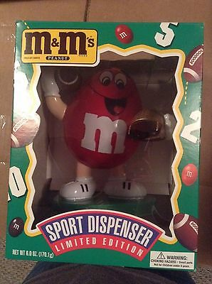 M&M Football Player candy Dispenser