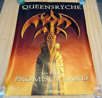 Queensryche - Promised Land - Promo poster - Big one - size : 156x104 .