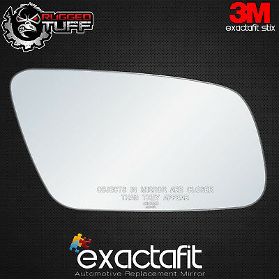 FULL ADHESIVE Passenger Side Right RH 501RC 95-99 Audi A4 A6 A8 S6 Mirror Glass