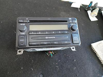 Toyota Camry Radio/cd/dvd/sat/tv Single Stack Cd, Sk36, Non Mp3 Player Type, 08/