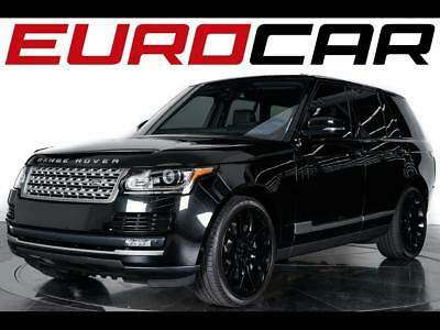 2016 Land Rover Range Rover Supercharged 2016 Land Rover Range Rover Supercharged - Optional Front & Rear Climate Seats