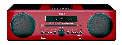 Yamaha Mcrb043D Micro System - Red