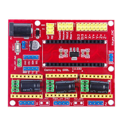 CNC Shield V4 Moter Driver Expansion Board CNC V4 Compatible with Arduino Nano