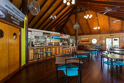 Friday night package for two with meals at the Coochie Beach resort