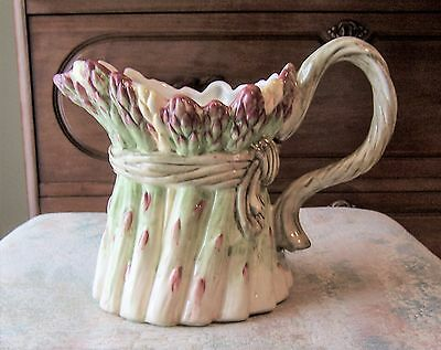 Fitz And Floyd Giardino Asparagus Pitcher Creamer