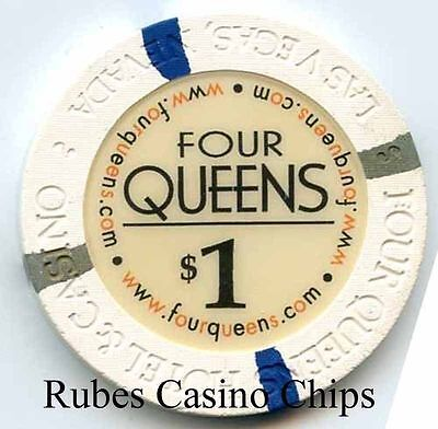 1.00 Chip from the Four Queens Casino in Las Vegas Nevada B/O