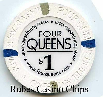 1.00 Chip from the Four Queens Casino in Las Vegas Nevada website