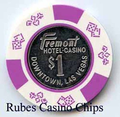 1.00 Chip from the Fremont Casino in Las Vegas Nevada Coin