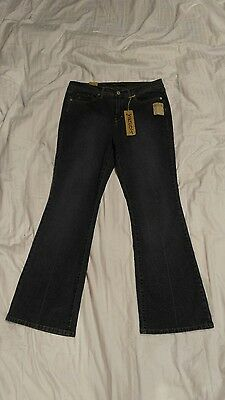 Jeanstar Mercury Bootcut Jeans, size 12 Low Rise Stretch