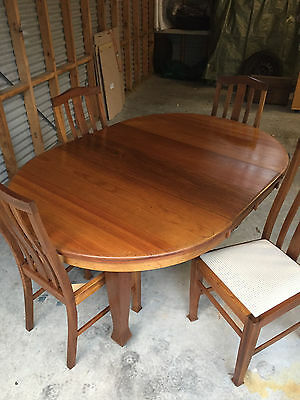 1920's Blackwood Antique Dining Suite (Fully Restored)