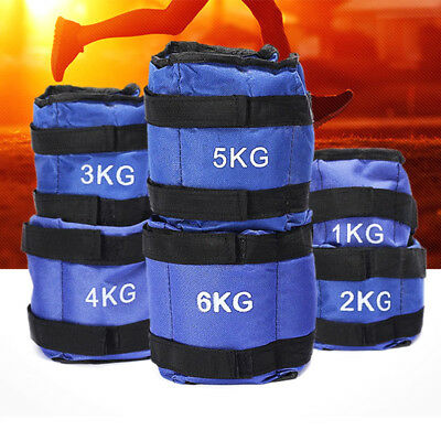 Strength Training Resistance Exercise Wrist Bracelets Straps Gym Ankle Weights