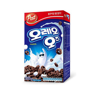 New Post Oreo O's Cereal with Marshmallow 8.8oz 250g Breakfast Foods
