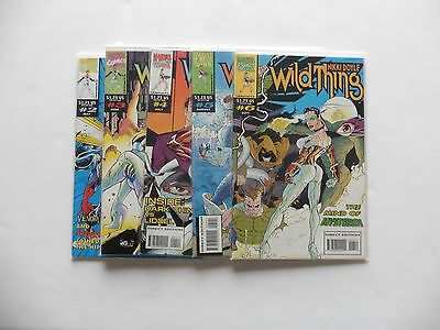 Wildthing Issues 2, 3, 4, 5, 6 Marvel Comics