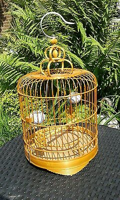 Chinese Bamboo Decorative Bird Cage