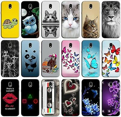 Custodia Cover Morbida In Tpu Per Samsung Galaxy J3 J5 J7 2017 Fantasia L