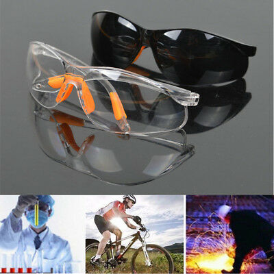 New Anti-impact Factory Lab Outdoor Work Eye Protective Safety Goggles Glasses C