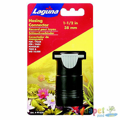 """Laguna Universal Coupling Adapter 3.17 cm (1 1/4"""") Click-Fit with 3.8 cm (1.5"""")"""