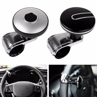 Controllers Atv,rv,boat & Other Vehicle 1pc Car Truck Steering Wheel Aid Power Handle Spinner Knob Ball Universal Black