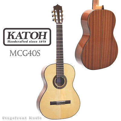 Katoh Mcg40S Classical Guitar. Solid Spruce Top. Sapele Back & Sides *brand New*