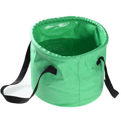 12L Thicken Foldable Water Bucket Portable Water Container Pail Camping Travel