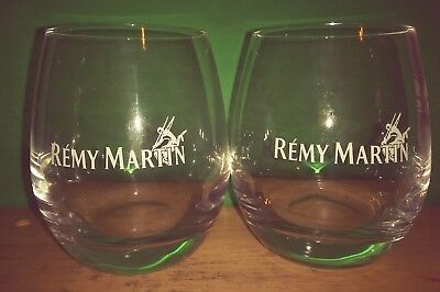 Remy martin cognac glasses (on the rocks)