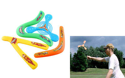 4Shapes Lightweight Outdoor Sporting Throwback Kids Colorful Boomerang