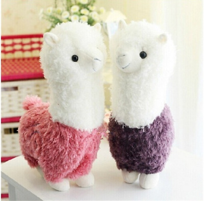 Hot Fashion 1Pc 28CM Lovely Small Llama Alpaca Plush Stuffed Doll Toy Gift Green