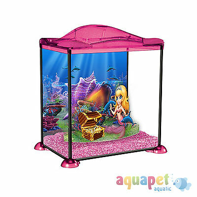 Marina Mermaid Shimmer and Sparkle 17L Aquarium Fish Tank