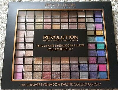 makeup revolution 144 eye shadow palette 2017 collection large EYESHADOW PALETTE