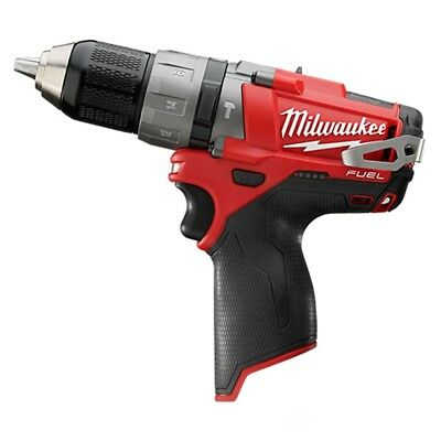 Milwaukee M12CPD-0 12V 44Nm Fuel Li-ion 2-Speed Percussion Drill (Body Only)