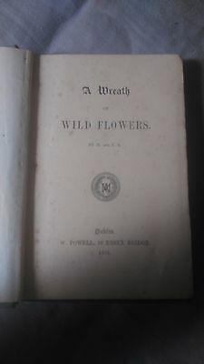 A Wreath of Wild Flowers (First Edition) 1875