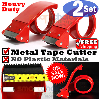 Heavy duty Packaging Tape Cutter Steel Metal Tape Cutter Packing Tape Dispensers