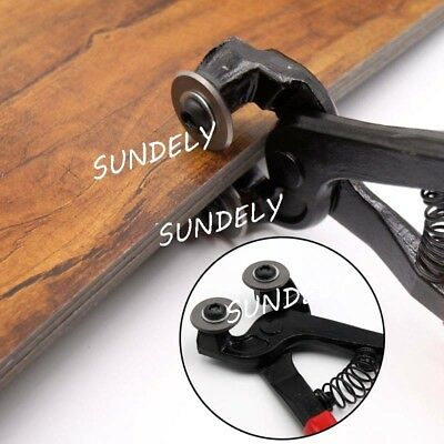 NEW Heavy Duty 8'' Stained Mosaic Glass Cutter Nipper Tile Wheeled Plier Tool AU