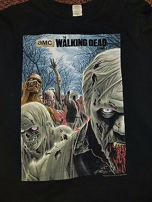 AMC The Walking Dead Season 4 Alex Ross T-shirt Men's L Large 100% Cotton
