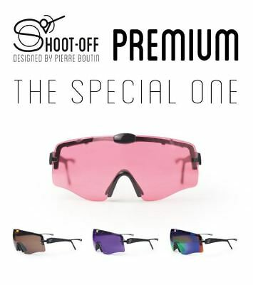 "Shoot Off Colour Lenses ""Premium"" SHOOTING GLASSES, PILLA, RANDOLPH"