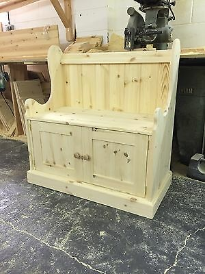 3ft solid Pine monks Bench with storage(reduced Price )
