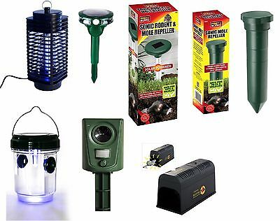 Electric Fly Wasp Mosquito Insect Killer Animal Mole Rat Mouse Killer Repeller