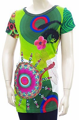 DESIGUAL Tee Shirt tunique TS BRESTED LIMA femme 42T2690 taille S