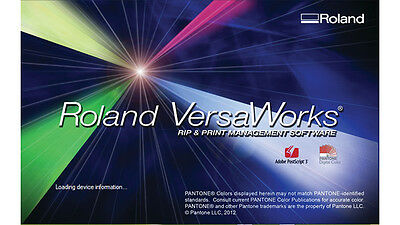 Roland Versa Works Software Sign Making v5.3.2