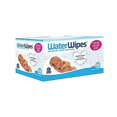 WaterWipes Sensitive Baby Wipes, 9 Packs of 60 Count (540 Count), FREE SHIPPING!