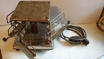 Vintage 4 Slice Toaster Estate  Electric 4 Arms Swing Out no. 177