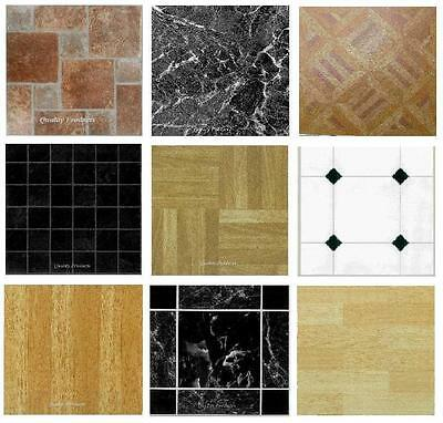 Vinyl Floor Tiles 100 Pack Flooring LIKE REAL WOOD Planks Peel N Stick 100 sq ft