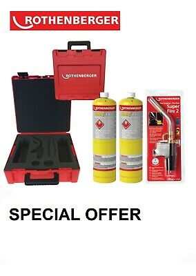 Rothenberger Rocase Hotbox Kit   Mapp Or Propane   18055 18056