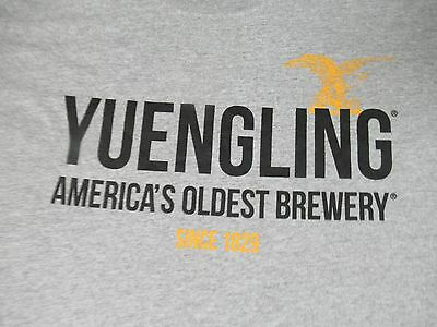 Yuengling - America's Oldest Brewery Since 1829 - Xl - Gray T-Shirt- J1347